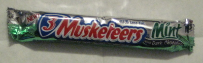3 Musketeers Mint Dark Chocolate Bar
