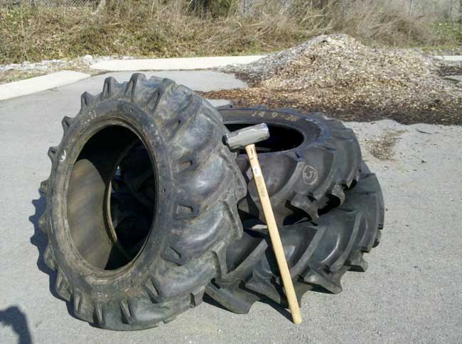 sledgehammer tire training